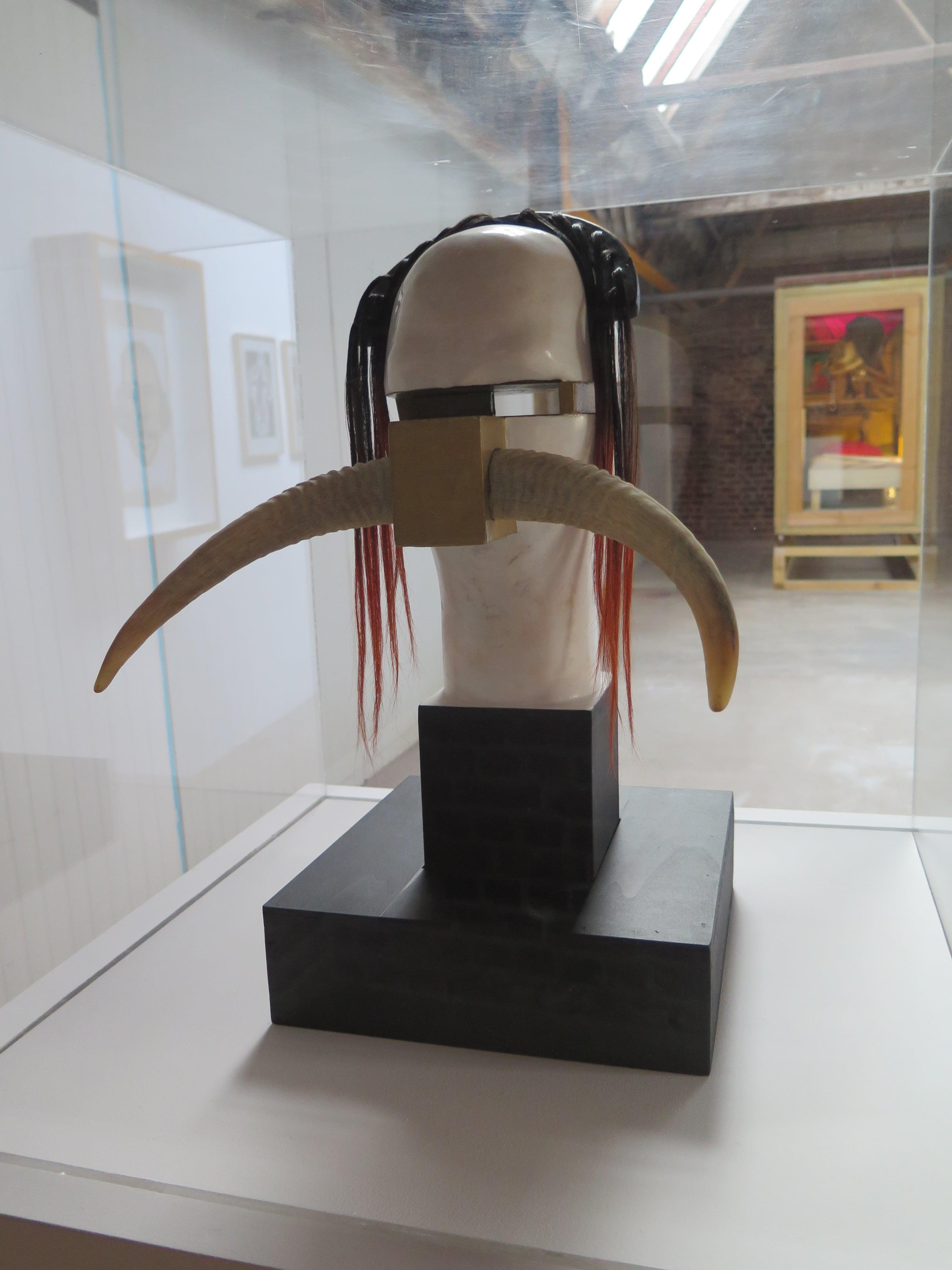 "©Carol levy,  ©Stéphane Laurent Marcel, "" Dada-Vodoo "", sculpture."