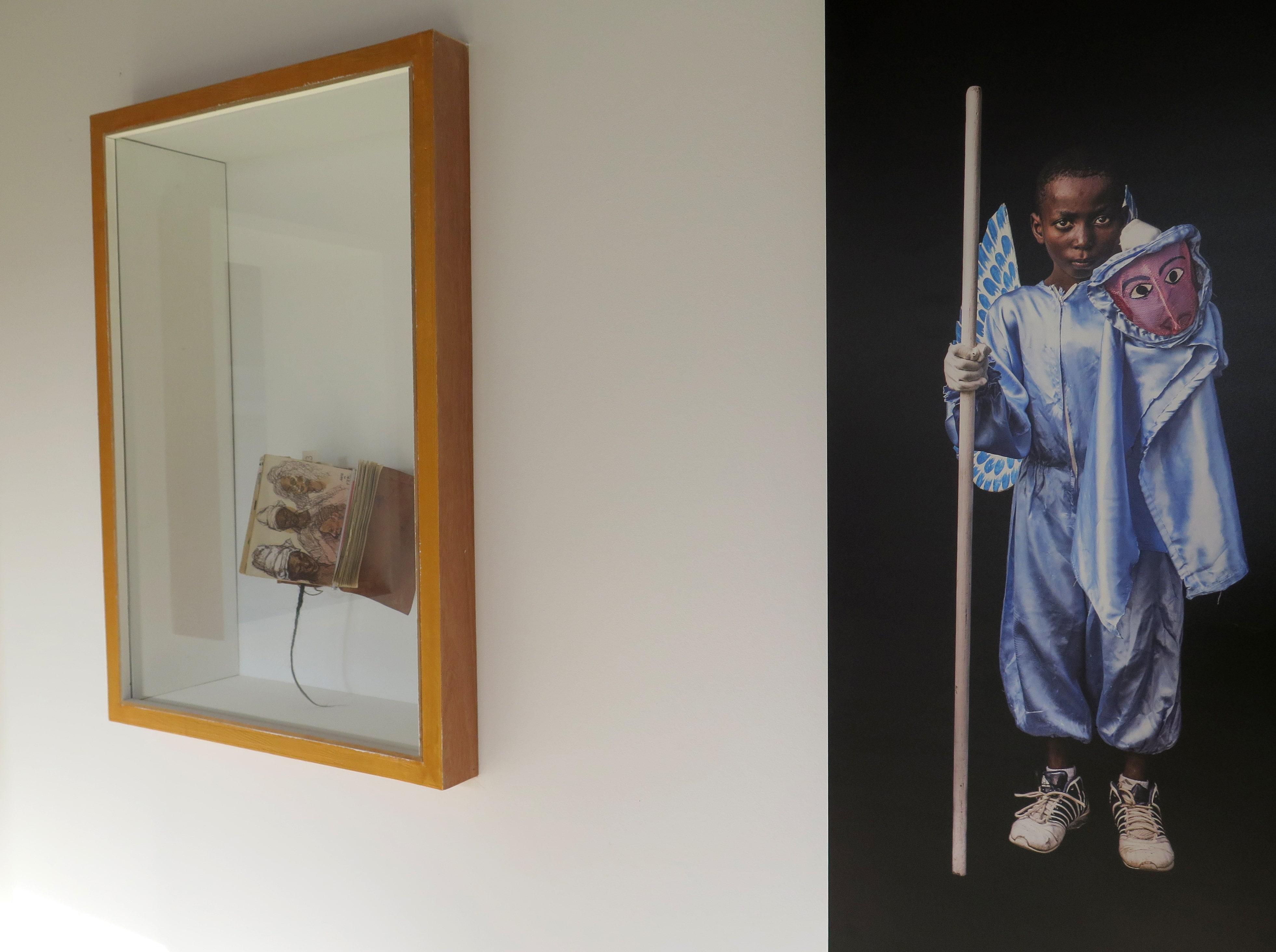 ©Fred Martin, Carnet de croquis du Sénégal et ©Corentin Fohlen, Photographie.