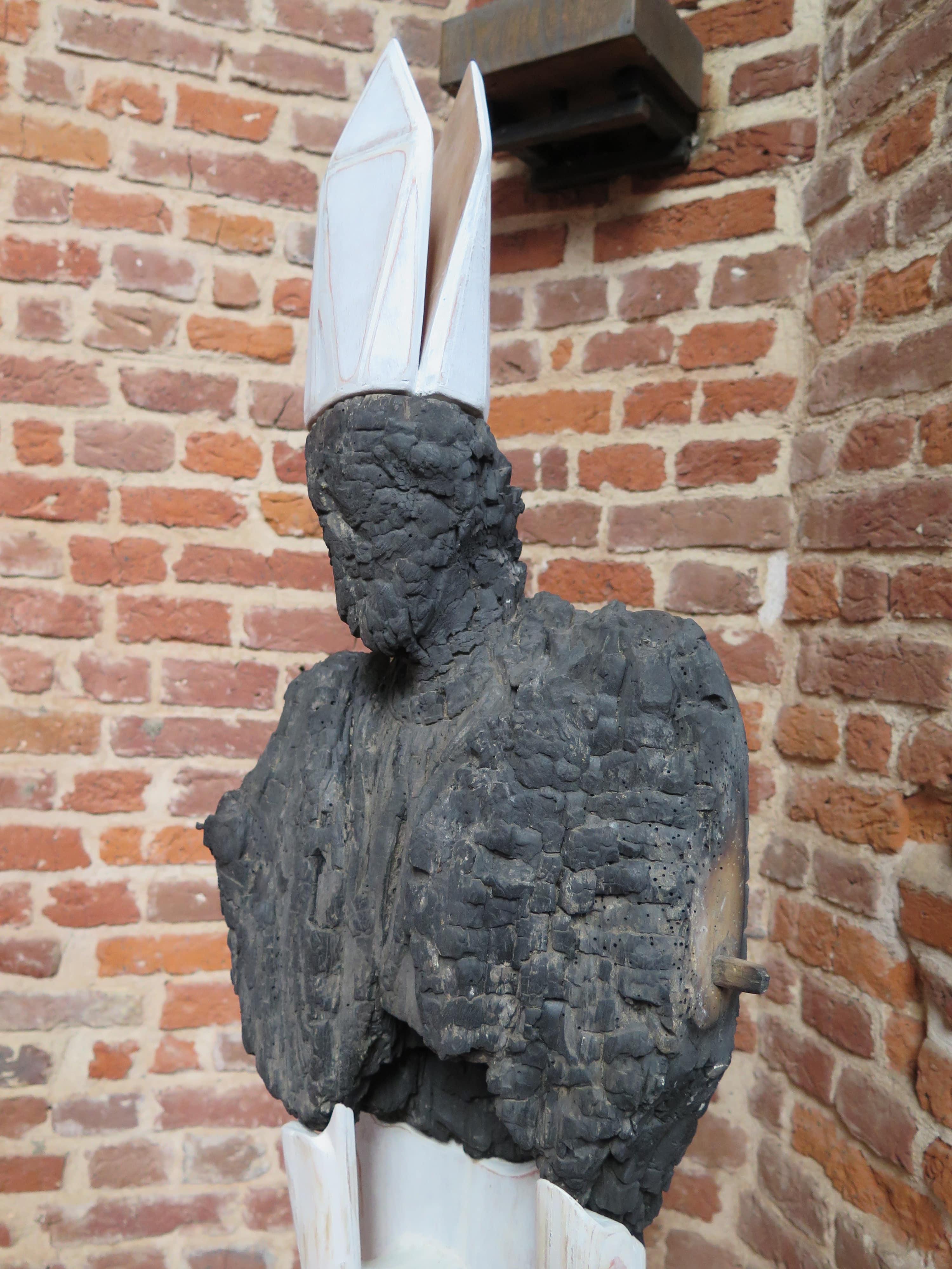 """Détail """" Saint Folquin"""", 2016."""