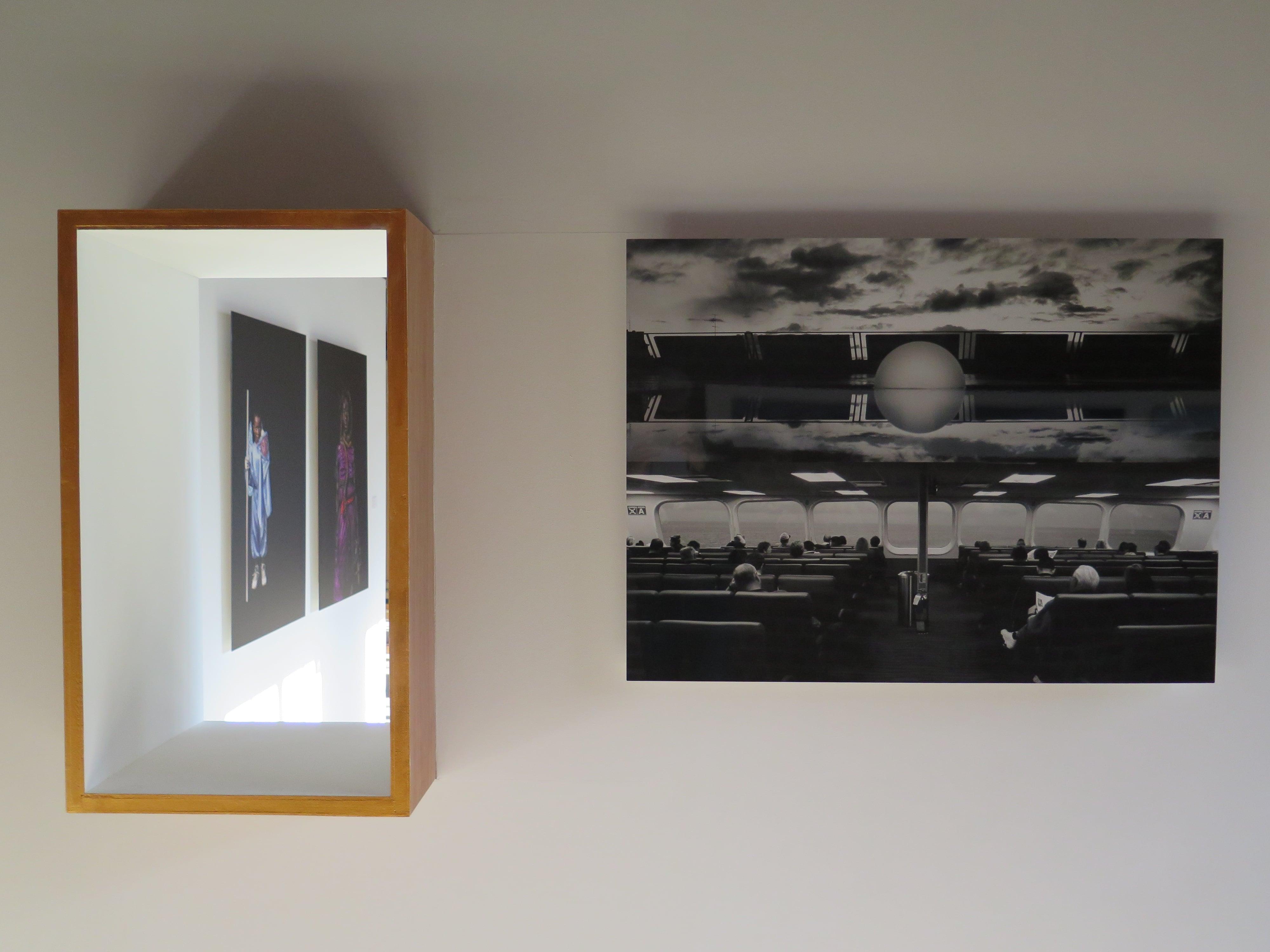 ( de gauche à droite )  ©Corentin Fohlen et ©Pascal Ruef, photographies.