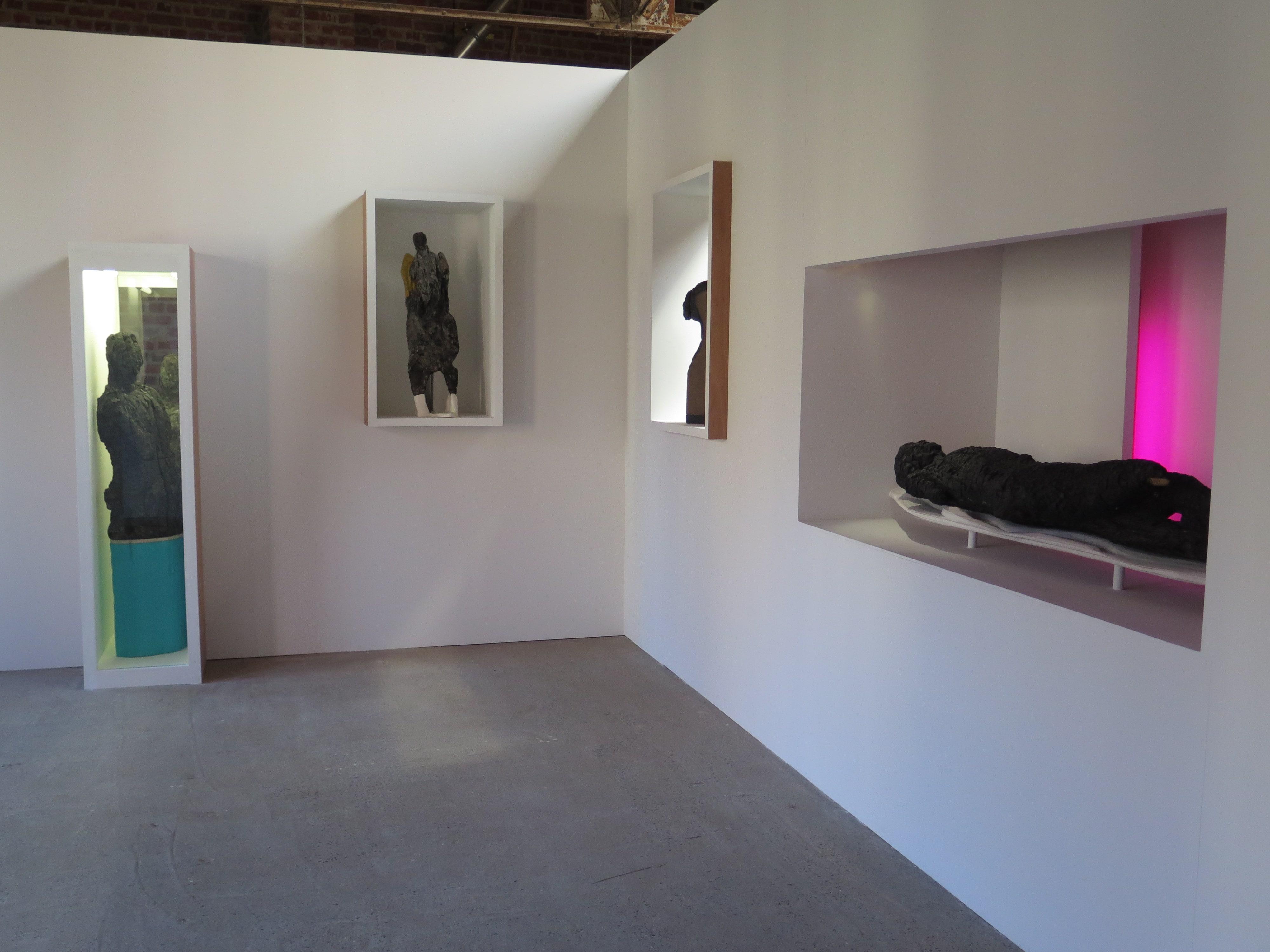 Sculptures calcinées à Modulo
