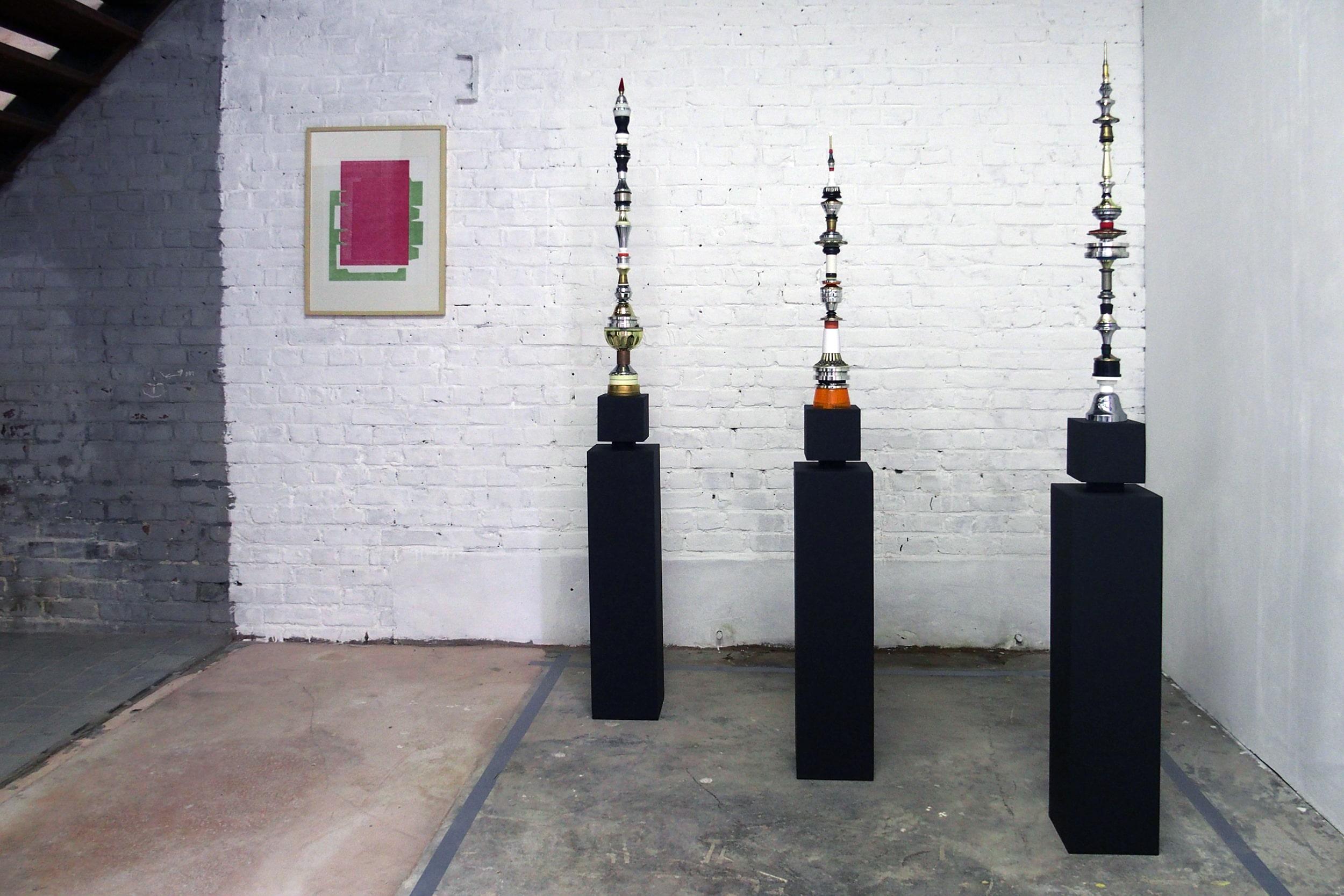 Stéphane Laurent Marcel sculptures, Sophie Wirtz gravures
