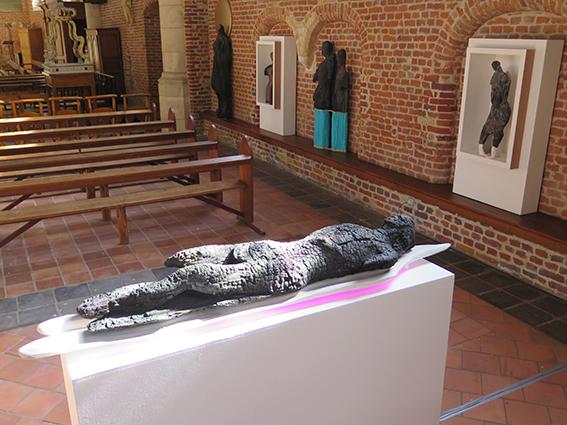 """Vue de l'installation """"Charbon Ardent""""."""