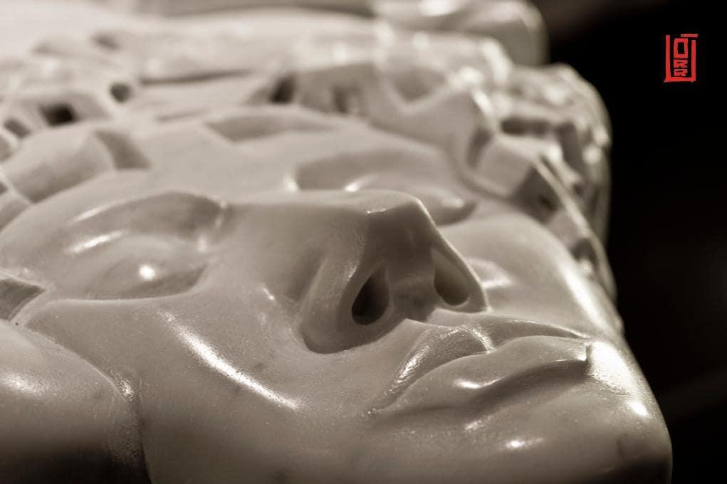©Alessio Orrù, détail sculpture.